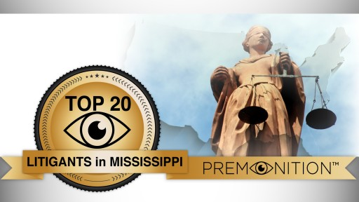 Premonition's New Survey Finds Top Mississippi Law Firm Has Won Zero Cases in Past Three Years; Low Case Totals Statewide