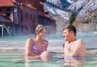 """us"" time at Glenwood Hot Springs"