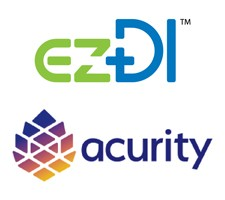 ezDI, Inc. and Acurity, Inc. Logo