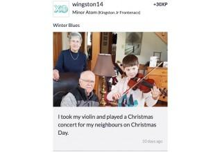 Violin For Grandparents