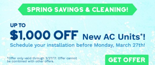All Year Cooling's Latest Spring Coupon is Announced