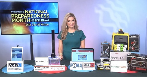 Meteorologist Cheryl Nelson Shares Why It is Important to Be Prepared on Tips on TV Blog