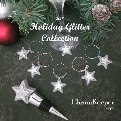 CharmKeeper Designs Introduces the Holiday Glitter Collection