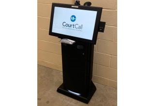CourtCall kiosk.
