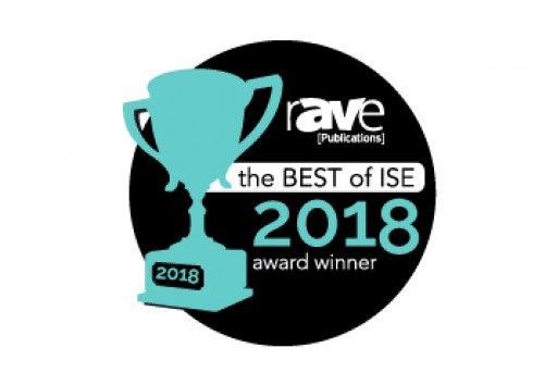 DVDO TILE Awarded rAVe Best New Wireless Collaboration System at ISE 2018