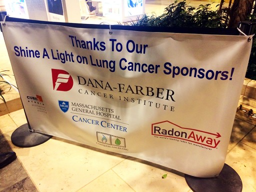 Inspiring Lung Cancer Event Held at Boston's Iconic Prudential Center