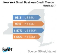 New York Small Business Credit Trends