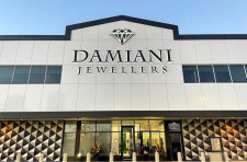 Damiani Jewellers' New Storefront Sign