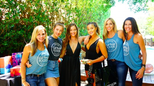 Cali'Flour Foods Served Their Cauliflower Pizza Crusts at the Teen Choice Awards Pre-Party at the Houdini Mansion