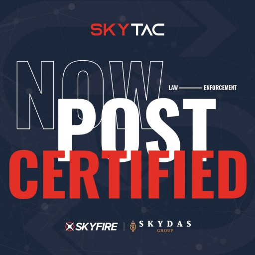 Skyfire Consulting and Skydas Group Team Up to Offer POST-Certified Drone Training, Ramp Up Law Enforcement and Event Offerings