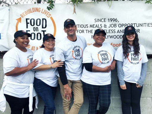Food on Foot Helps Homeless Get Jobs, Apartments, Rebuild Self-Confidence and Social Skills for Last 23 Years