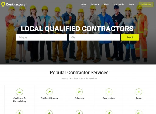ContractorsBio Launches Exclusive Contractor Ecosystem Nationwide to Tap Into Gig Economy