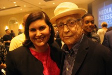 Lauren Appelbaum and Norman Lear