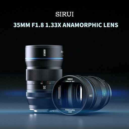 SIRUI, a Camera Accessories Manufacturer, Released Its 35mm f/1.8 1.33x Anamorphic Lens on INDIEGOGO August 3, 2020