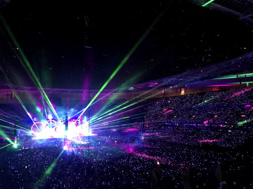 Coldplay Tour Lights Up Everyone With New Technology LED Bracelets