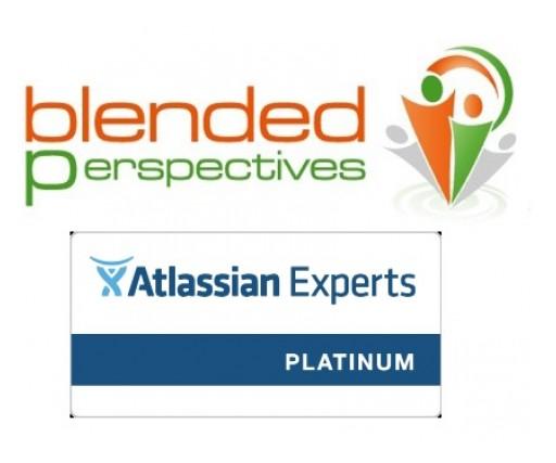 Blended Perspectives Inc, an Atlassian Expert Partner, Awarded Platinum Status
