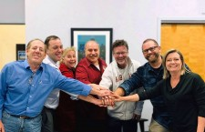 The Executives at Level 3 Audio Visual and AVR meet in New York to finalize the acquisition.