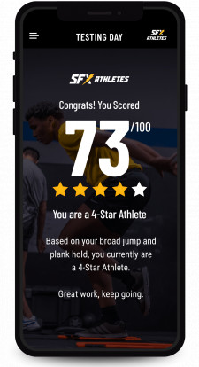 SFX Athletes Training App