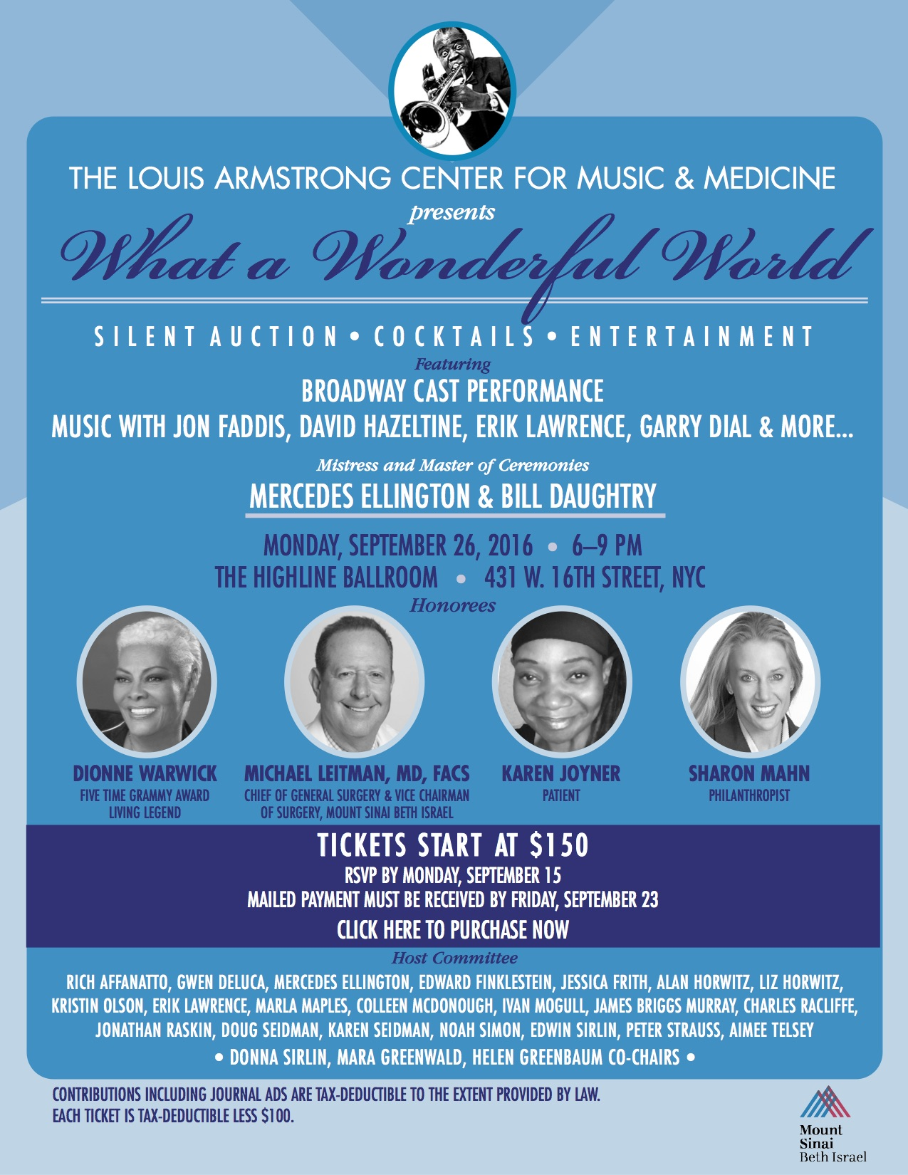 Louis Armstrong Center for Music and Medicine at Mount Sinai