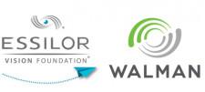 Essilor Vision Foundation and Walman logos