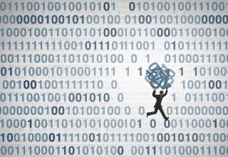 Scammer Stealing Digital Data