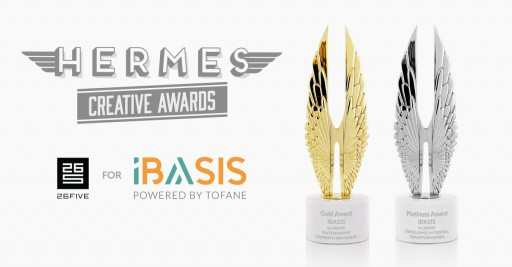 26FIVE Wins Platinum and Gold for iBASIS in Digital and Branding Hermes Awards