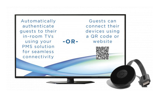 Hospitality WiFi Announces Casting Solution for Hospitality Properties