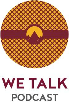 WE Talk Podcast Logo
