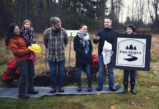 Green Harbor Communities leaders at Dec. 1 Groundbreaking