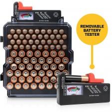 Volt Vault Battery Organizer and Tester