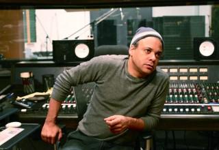 Macy Gray Producer Darryl Swann in Studio