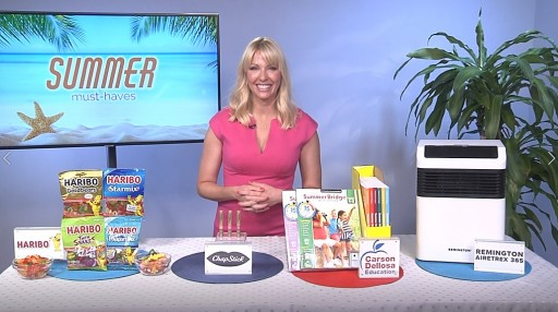 Kelly Page Shares Must-Haves for Summer on Tips on TV Blog