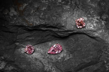 3 of the 16 stones won by Leibish at the 2020 Pink Argyle Diamond Tender