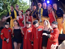 The Duettes, Satin Dollz, Jive Aces, Gina Haley, Lucky Will