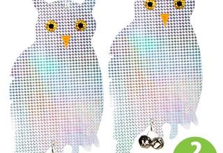 Reflective Hanging Owl Bird Deterrents