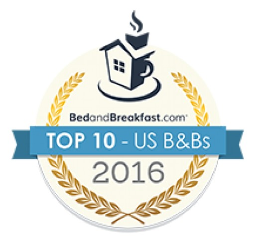Charming New Jersey Bed & Breakfast Named in National Top Ten