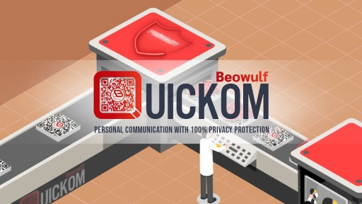 QUICKOM for Personal Use - Communicate with 100% Privacy Protection via QR Codes