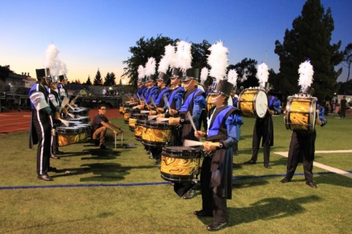 The 2016 Blue Devils Drum Line Will Play System Blue Professional Battery Percussion