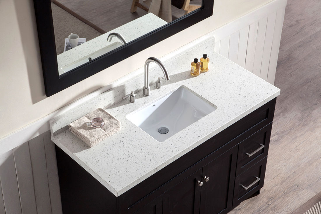 Bathroom Vanity Quartz Countertops