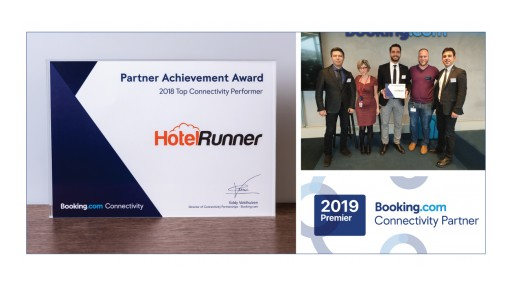 HotelRunner Recognized by Booking.com as Its Premier Connectivity Partner and the Top Connectivity Performer