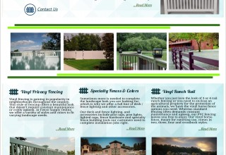 Besides Vinyl Fences, Other Fence Products from Fence Supply Online