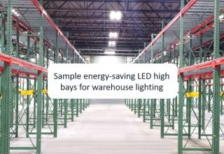 Energy-saving LED lights