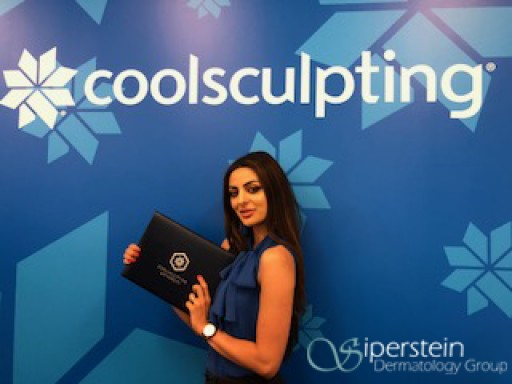 CoolSculpting Specialist Joins the Cosmetics Team at the Siperstein Dermatology Group (SDG) After Graduating Top of Class