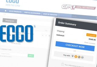 ECCO Warning Lights Crypto Checkout