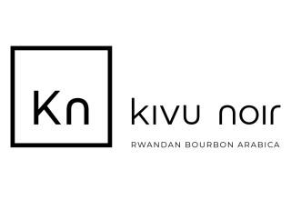 Kivu noir logo with tagline