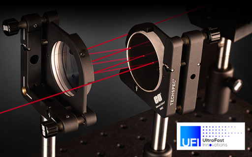 Edmund Optics® and UltraFast Innovations Partner to Provide Global Access to the Highest-Precision Laser Optics