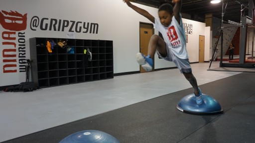 Gripz Gym Launches Gripz Kidz - Ninja Warrior Classes