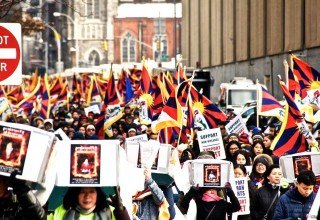57th Tibetan National Uprising Day in New York
