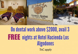 Dental Special for Treatment in Los Algodones