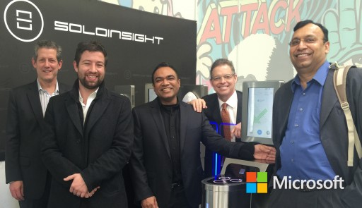 "Microsoft and Soloinsight to Help Build Internet of ""People"" Together"